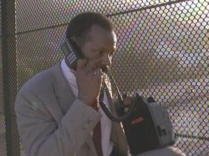 Lethal Weapon I, 1987: High tech cellphone: who could want more?