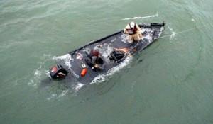 HMS Ganim runs afoul of reality