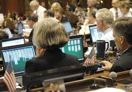Ct Legislators playing computer games
