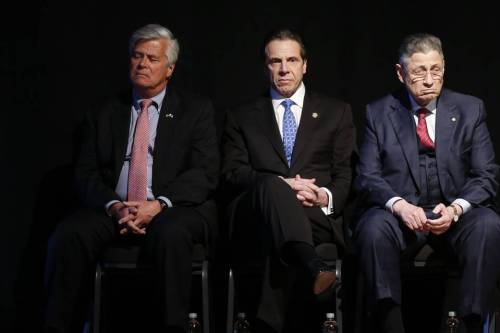 Skelos, Cuomo and Silver. Two down, one to go.