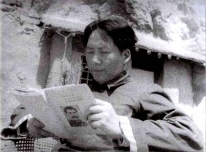 Mao reads Stalin
