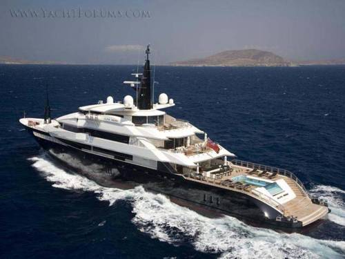 Prince Albert's yacht