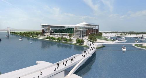 Swamp Paradise: proposed new Greenwich High School Stadium