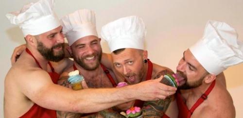 Civil union cupcake