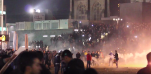 I don't see anything - you see anything? Muslims celebrate New Years Eve in Cologne