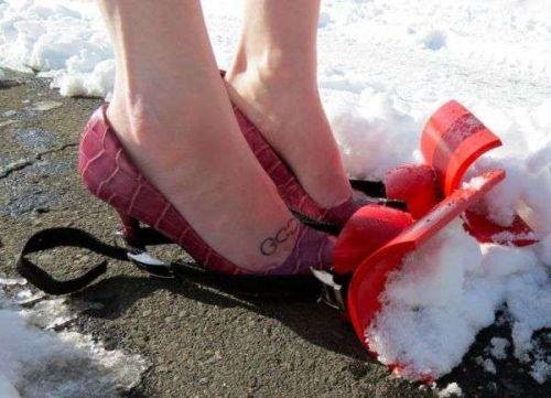 snowplow shoes