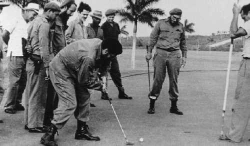 AlbertoKorda-Fidel-Golfing-1959