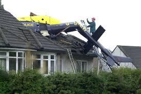 helicopter crash into home II