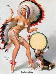 Indian chieftress