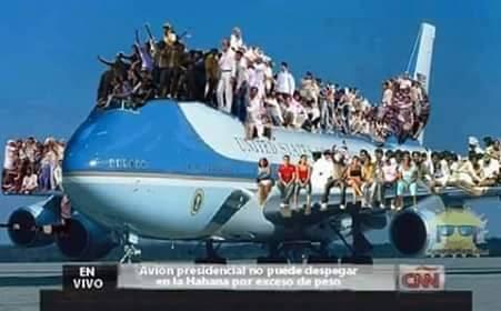 Obama Freedom flight