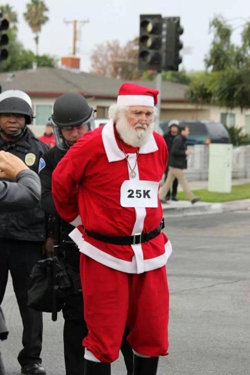 Santa Claus arrested