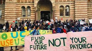 Student protest tuition hike