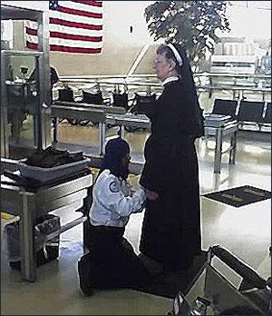 TSA nun