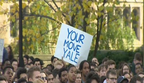 yale-protest