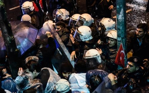 TURKEY-POLITICS-MEDIA-RIGHTS-JUSTY-JUSTICE-DEMO