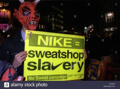demonstration-against-nike-and-its-policy-of-using-sweatshop-slavery-ATX0FH
