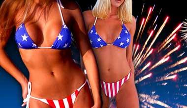 Bikini fireworks